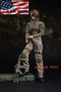 1-6-Tactical-Military-Combat-Suit-Set-12-034-For-Phicen-Hot-Toys-Female-Figure-USA