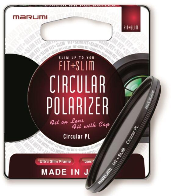 FTS67CIR Slim Circular Polarising Filter 67mm Marumi Fit