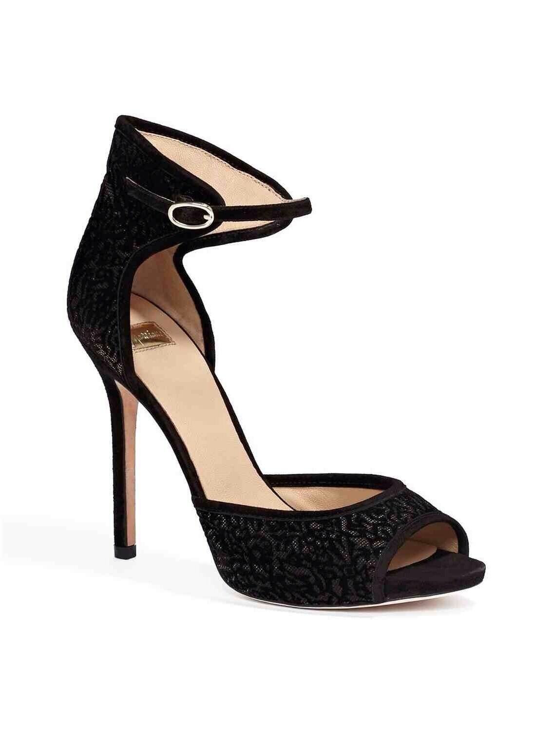 Guess By Marciano blanche paragraphe noir velours Texture revers