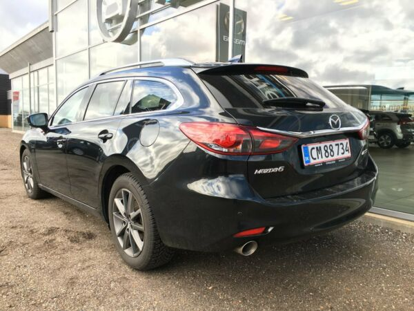 Mazda 6 2,2 Sky-D 184 Optimum stc. aut. - billede 2