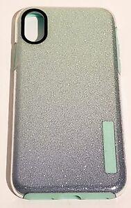 promo code acfa9 3a4f7 Details about Incipio DualPro Series Case for iPhone X & iPhone XS (10) -  Mint Sparkles