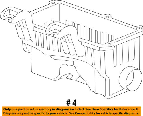 Chevrolet GM OEM 13-15 Spark Air Cleaner Box-Bottom Lower Housing Body 96910364