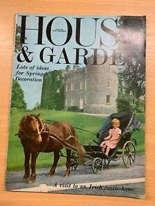 Avril 1966 Maison & Jardin Vintage Magazine - Irish Château Maison