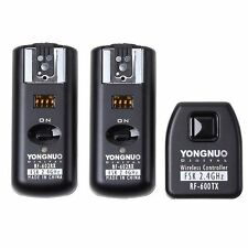 Yongnuo RF-602 Wireless Remote Flash Trigger + 2 Receivers for Canon Camera US