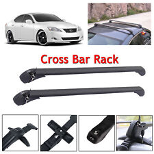 Car Roof Bars Rack Luggage Carrier Cross 43 For Lexus Is250 2010 2017 Universal