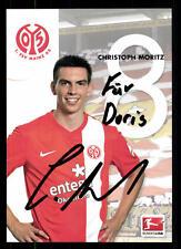 Christoph Moritz Autogrammkarte FSV Mainz 05 2013-14 Original Signiert+ A 108882