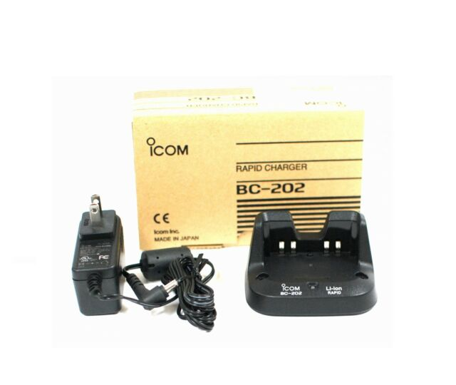 NEW ICOM BC-202 Rapid Charger for BP-271/BP-272 for ID-31A ID-31E ID-51A ID-51E