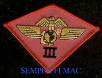 3rd MAW US MARINE AIR WING HAT PATCH THIRD MCAS MIRAMAR PIN UP MAG MWSG MWSG WOW