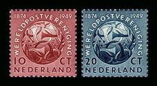 Nederland 542-543  UPU  1949 luxe postfris /mnh