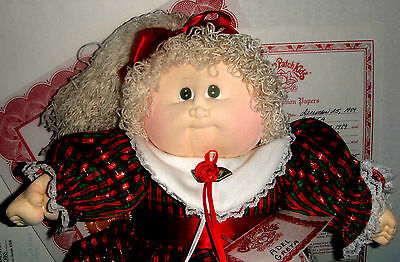 CPK Cabbage Patch Xavier Roberts 1989 Limited RUBY Ed. Soft Sculpture ADEL GRETA