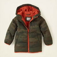 The Childrens Place Camouflage Coat Pick Your Size