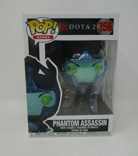 Phantom Assassin FUNKO POP Games DOTA 2 MIB NEW #356