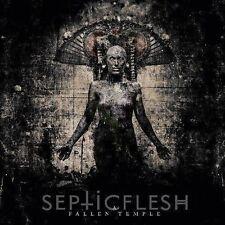 Septicflesh - A Fallen Temple CD 2014 digipack Septic Flesh reissue bonus tracks