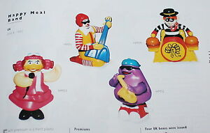 McDonald's MC DONALD'S HAPPY MEAL - 1993 Happy Meal Band Pezzi singoli fAUkom2k-09113130-280877370