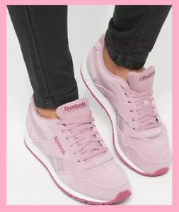 NEW-Reebok-Classic-Royal-Glide-Women-Sneakers-Basket-Infused-Lilac-40-CN3215