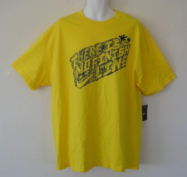 a836b7a9a nwt~Nike NO FINISH LINE Graphic Block Shirt Human Race Collection Tee~Mens  sz