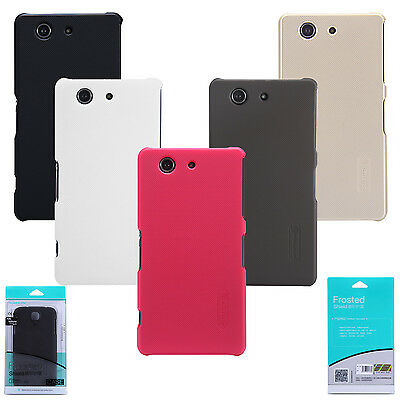 Nillkin Frosted Matte Hard Cover Case +LCD Film For Sony Xperia Z3 Compact D5803