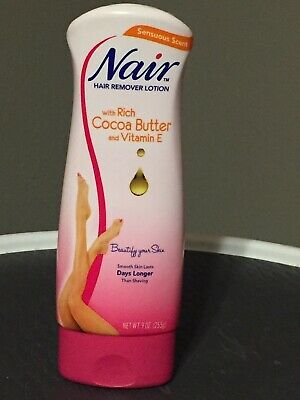 Nair Hair Remover Lotion For Legs Body Cocoa Butter With Vitamin