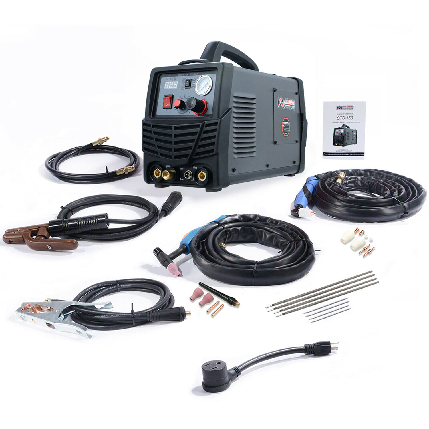 CTS-160, 30A Plasma Cutter, 160A TIG Stick Arc DC Welder, 3-IN-1 Combo Welding. Buy it now for 449.00