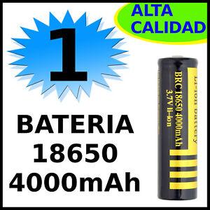 1x-PILA-BATERIA-RECARGABLE-ALTA-CALIDAD-18650-4000mAh-3-7V