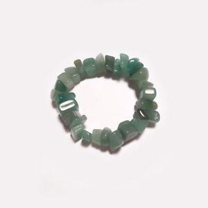 pulsera-piedra-mineral-cristal-cuarzo-verde-chip-grande