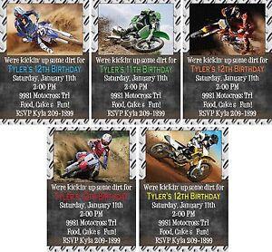 Print your own kickin dirt motocross dirt bike birthday print your own kickin 039 dirt motocross dirt filmwisefo Gallery