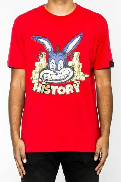 HUDSON HISTORY MONEY BUNNY TEE