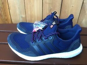 sports shoes 5741e 7771f Adidas Ultra Boost Kinfolk blue men's sneaker shoes multiple ...