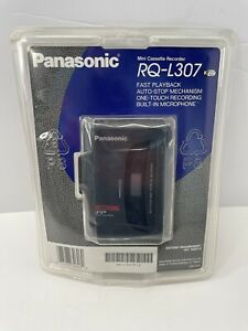 NEW FACTORY SEALED Panasonic RQ-L307 Portable CassetteTape Voice Recorder Player
