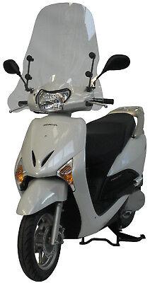 2510/a Fabbri Parabrezza + Attacchi Per Honda Lead 110 2008 2009 2010 2011 2012