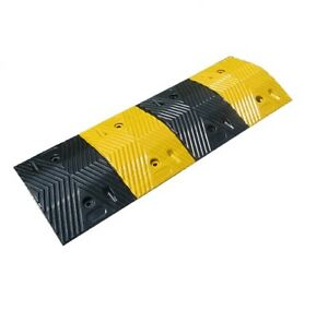 image is loading 60 tonnes rubber speed bump humps modular speed - Rubber Speed Bumps
