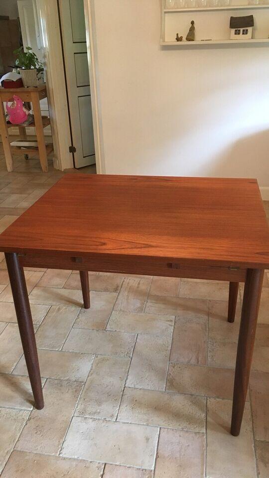 Spisebord, Teak, b: 85 l: 256
