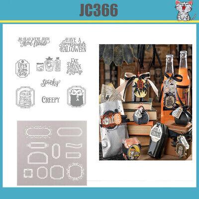 JC401 Sip Sip Hooray Stamp Set and cutting Dies for Craft Dies Scrapbooking Albu