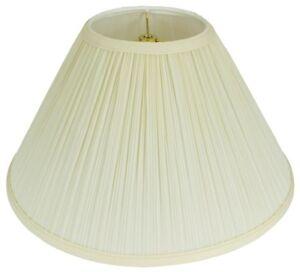 Image Is Loading USA American Made Wide Coolie Mushroom Pleated Lamp