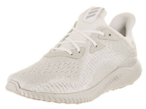 e982375121c07 Adidas Men s Alphabounce Em Running White Silver Metallic Off White ...