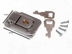 Verrouillage cas Fermoir attaches à boutons-Olives Tronc Attraper Avec 2 Clés 48 mm x 33 mm CP