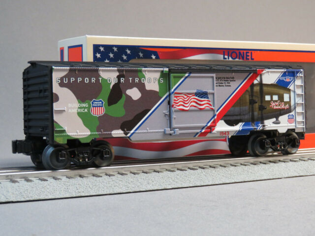 lionel 6 85317 o spirit of the union pacific made in usa boxcar ebay