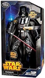 Figurine parlante Darth Vader de Star Wars, 13,5 po, Disney Store Limited Edition - Épuisé Darth Vader Talking Figure Disney Store Limited Ed.- Sold Out