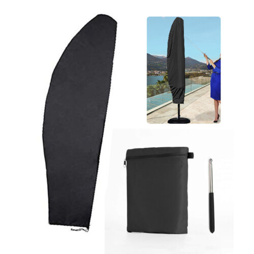 13ft Outdoor Patio Cantilever Umbrella Cover Waterproof Parasol Protective 9ft