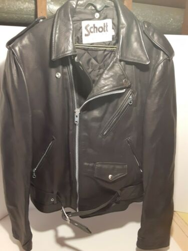 Vintage Schott N.Y.C. Sportswear Leather Motorcycl
