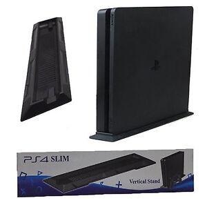 playstation 4 ps4 mince vertical vertical halter position stand noir ebay. Black Bedroom Furniture Sets. Home Design Ideas