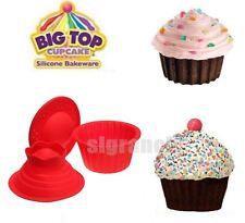 Diy Silicone Big Jumbo Giant Top CupCake Mould  Bakeware Molds Pan  Baking Set