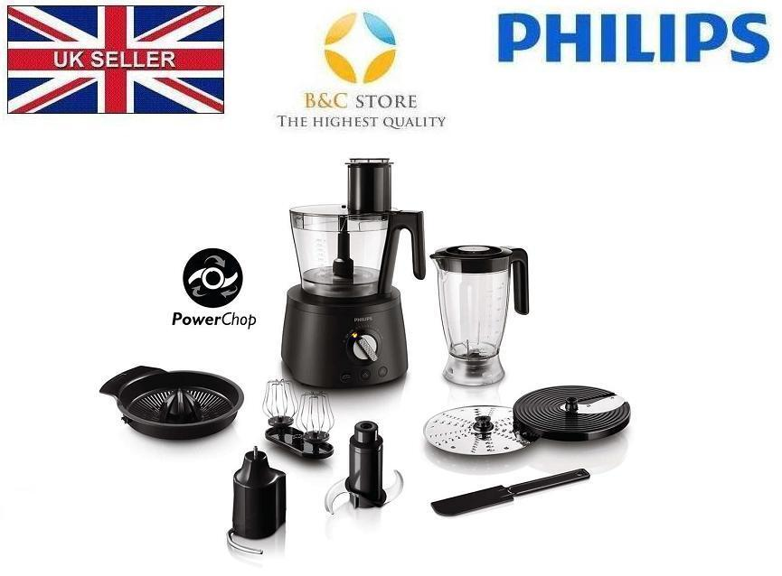 NEUF PHILIPS HR7776 90 Avance Collection Food Processor Blender 1300 W HOME MADE