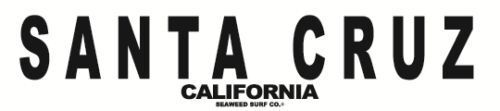Santa Cruz California Aluminum Metal Traffic Parking Road Street Sign Wall Decor