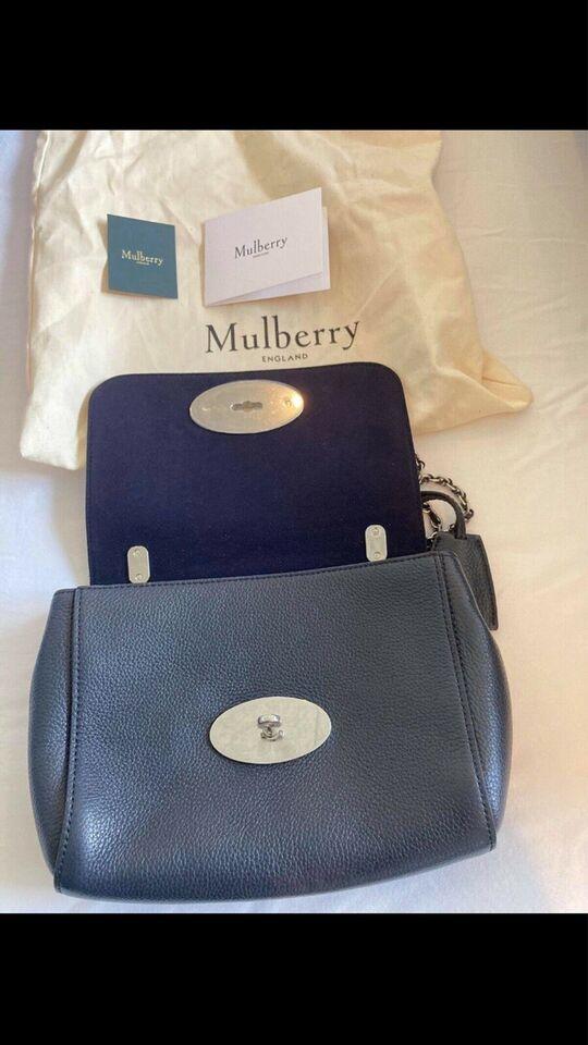 Crossbody, Mulberry, læder