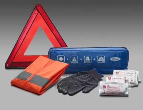 First Aid Kit,Warning Triange,Vest Ford Ecosport 10//2013/> Ford Premium Safety
