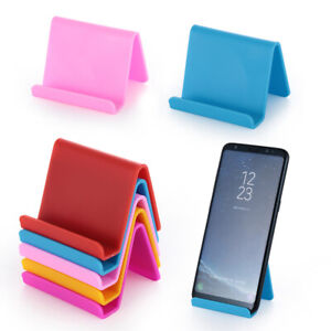 Plastic-Mount-Stand-for-Cell-Mobile-Phone-Tablets-Phone-Holder-Lazy-Bracket
