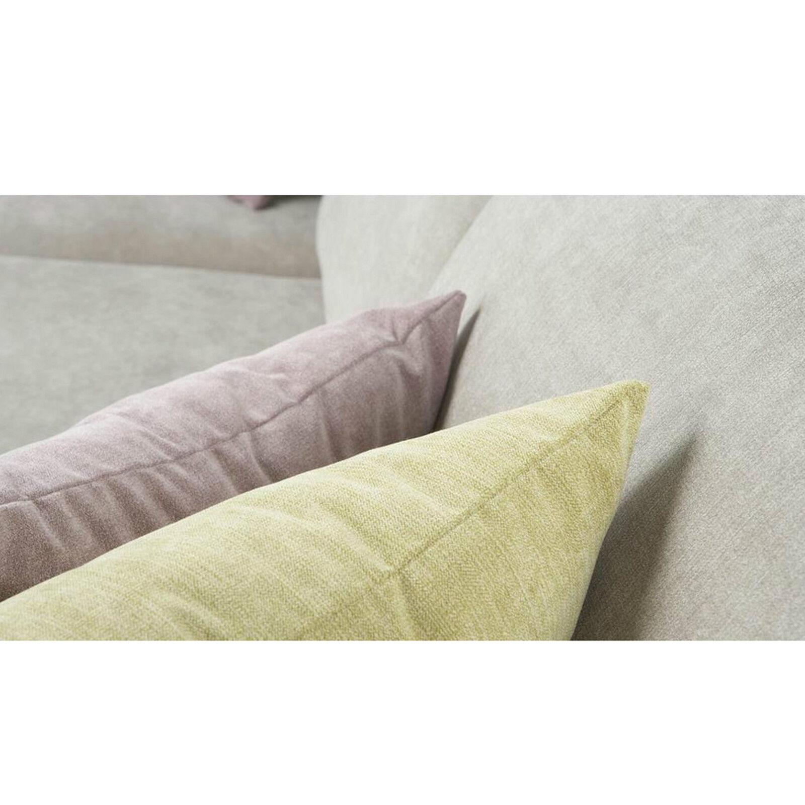 Soft Plain Chenille Designer Curtain Cushion Sofa