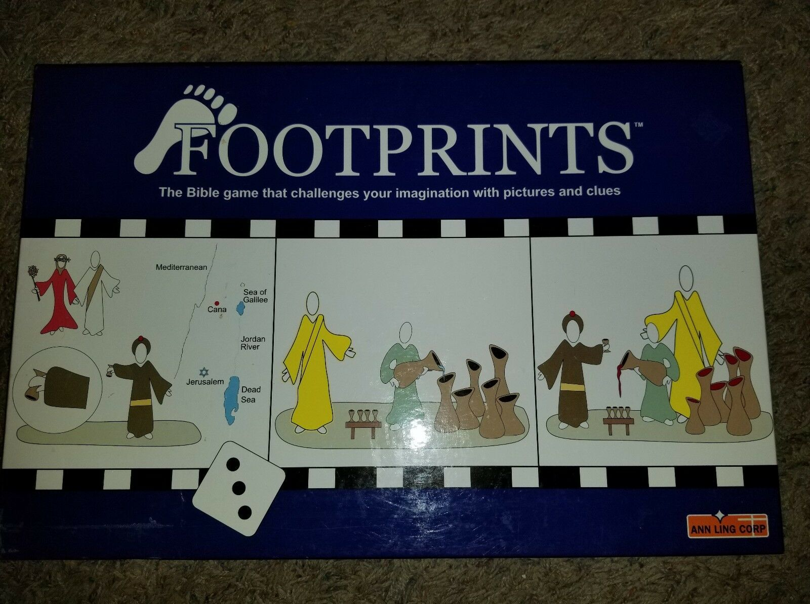 Footprints, The  bible gioco that chtuttienges your imagination with pictures clues  fino al 50% di sconto
