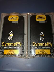 Lot-Of-2pc-OtterBox-SYMMETRY-SERIES-Case-for-Samsung-Galaxy-S6-EDGE